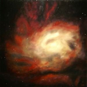 Painting of the Circinus Galaxy (ESO 97-G13)