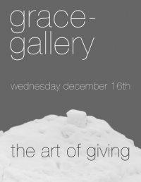Art of Giving group exhibition at grace-gallery
