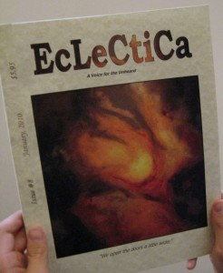 Antennae featured on the cover of Eclectica