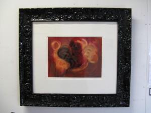 Framed Birdsong print