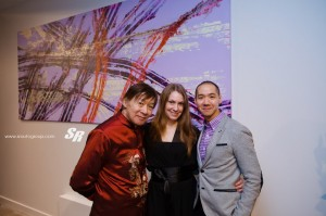 Raymond Chow, Stacy Sakai, and Tony Yuen